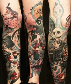 So many people I know are in love with this movie! Tattoo Artist - Carl Löfqvist - Cartoon tattoo