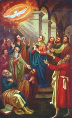 |NOVENA FOR THE SEVEN GIFTS OF THE HOLY SPIRIT #pinterest #pentecost DAY 7 Christ Jesus, before ascending into heaven, You promised to send the Holy Spirit to Your apostles and disciples. Grant that the same Spirit may perfect in our lives the work of Your grac......... Awestruck.tv