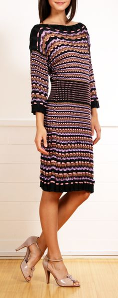 M MISSONI DRESS ♪ ♪ ... #inspiration #diy GB http://www.pinterest.com/gigibrazil/boards/