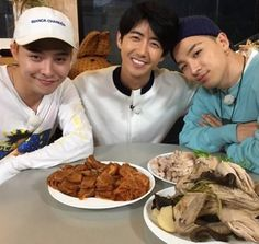 Big Bang's Taeyang Shares A Photo Of Dinner Cooked By Himself, G-Dragon, And ZE:A's Kwanghee - http://imkpop.com/big-bangs-taeyang-shares-a-photo-of-dinner-cooked-by-himself-g-dragon-and-zeas-kwanghee/