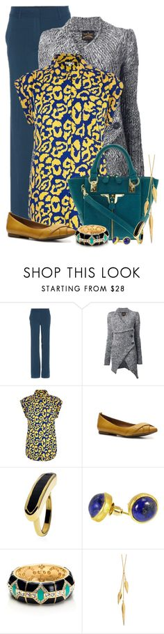 """""""Untitled #716"""" by mona07 ❤ liked on Polyvore featuring Etro, Vivienne Westwood Anglomania, River Island, Crown Vintage, Danielle Nicole, Monica Vinader, Azuni, Avon and Dinny Hall"""