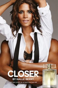 The Best Celebrity Perfumes: Halle Berry has five fragrances, including Halle and Closer.