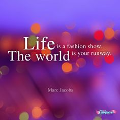 your world is your #runway. #marcjacobs #fashion #inspiration #Cashmere
