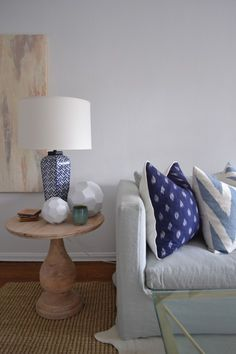 Turned-Wood Side Table from west elm via @Brian Paquette