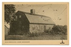 Myles Standish House 1666 Duxbury, MA
