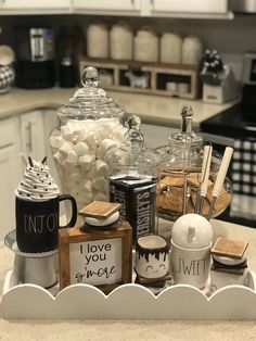 2020 Graduation Ideas Discover I love you smore sign smore sign summer fall winter gift Coffee Bar Home, Home Coffee Stations, Coffee Bar Design, Coffee Bars, Christmas Hot Chocolate, Hot Chocolate Bars, Hot Coco Bar, I Love You S, S'mores Bar