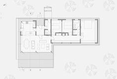 Imagen 9 de 16 de la galería de Casa Caburé / Nómade Arquitectos. Cortesía de Nómade Arquitectos