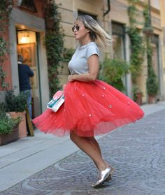 Tulle Skirt - #MFW by @cultureandtrend