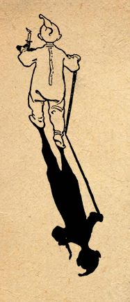 Illustration by Jessie Wilcox Smith from 'A Child's Garden of Verses' by Robert Louis Stevenson. Image features a child going to bed carrying a candle followed by his shadow. http://www.amazon.com/gp/product/1447448952/ref=as_li_tl?ie=UTF8&camp=1789&creative=9325&creativeASIN=1447448952&linkCode=as2&tag=reaboo09-20&linkId=AIWWRJBS2GY4KE25