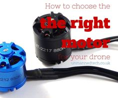 [image] This small guide is to help you choose the right motor for your quadcopter or other multirotor. To help you with this decision, it would be desirable to have several test statistics at your disposal which can be found in the thrust data tables. Luckily, reputable manufacturers will have carried out these necessary tests so you don't have to and these will provide you with the needed information. An example of one such thrust data table for a MT1806 is given below:  [image]   If you…