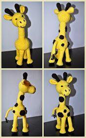 Háčkovánky: Háčkovaná žirafa Giraffe Crochet, Crochet Animals, Crochet Toys, Pet Toys, Baby Toys, Eco Friendly Toys, Pdf Patterns, Handmade Toys, Plushies