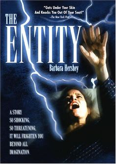 """The Entity (1982) Poster - """"Creepy movie. I was scared to take a shower for a while after watching it. Not even Psycho did that to me."""""""