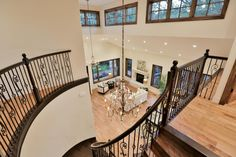 Love those windows above the landing for extra light