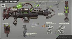 ArtStation - Biological weapon concept, Rock D