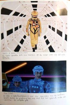 2004: A SPACE ODYSSEY (1968) De laatst gemaakte film over mensen op de maan voordat dit echt gebeurde. -- TRON (1982) De film is gediskwalificeerd voor een nominatie van een academy award, omdat de academy toen nog vond dat het gebruik maken van computers als valsspelen gold.