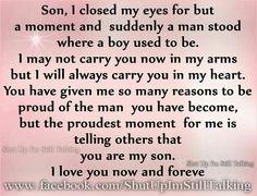 Son saying