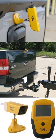 Swift Hitch System back up camera for your vehicle or trailer. Wireless and includes camera, handheld monitor, 2 carrying cases $200.00