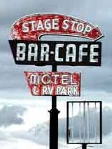 Stage Stop Bar and Cafe neon sign, Wendover, Nevada. Photo credit: www.motelsign.com