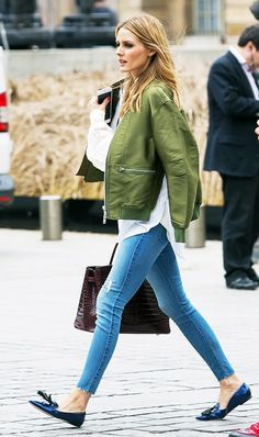 The Thriftiest Way to Dress Like Olivia Palermo via @WhoWhatWear