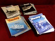 26) Large quantity of vintage warship magazines Est. £5-£10