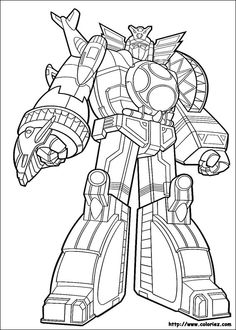 giant robot coloring page find your favorite giant robot coloring page in power rangers coloring pages section are you looking for power rangers