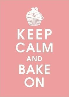 I love this poster cause I love to bake!!:)