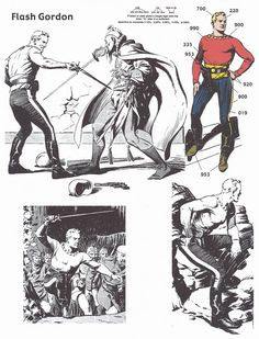 Joe Kubert Tribute: Part 1 Back in 2002 I dropped Joe Kubert a line asking if he'd be interested in drawing a Flash Gordon Sunday page for the small sum I could afford to pay at the tim… Comic Book Pages, Comic Book Artists, Comic Artist, Comic Books Art, Flash Gordon Comic, Western Comics, Bd Comics, Classic Comics, Science Fiction Art