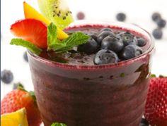 Smoothie mit Heidelbeeren - Rezept