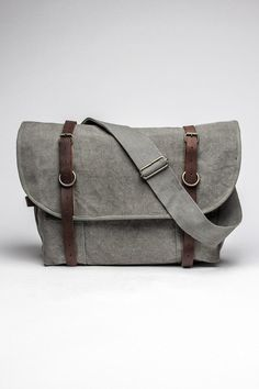 Vintage Canvas Explorer Shoulder Bag / by Rothco