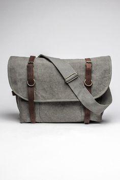 Vintage Canvas Explorer Shoulder Bag / by Rothco