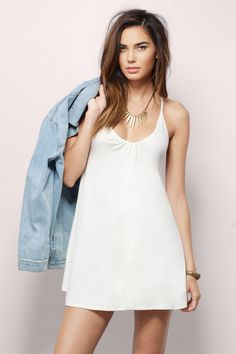 4ddb59ae9e Find this and many more must have little white dresses at www.tobi.com