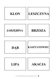 Liście...szablony i karty pracy Educational Crafts, Bar Chart, Math, Montessori, Polish, Mathematics, Enamel, Varnishes, Nail Polish