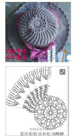 모자뜨기 : 네이버 블로그 Crochet Shell Stitch, Crochet Cap, Crochet Diagram, Crochet Motif, Diy Crochet, Crochet Designs, Crochet Patterns, Sombrero A Crochet, Crochet Baby Beanie