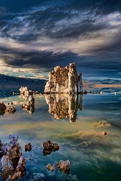 Mono Lake, Calif. USA by Mark Lissick