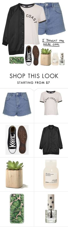 """""""Happy Little Pill//Troye Sivan"""" by thelonelyheartsclub ❤ liked on Polyvore featuring Topshop, Converse, Monki, Davines, Casetify, women's clothing, women, female, woman and misses"""