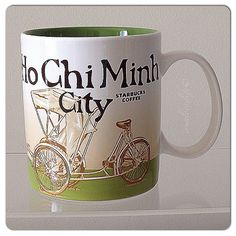 Ho Chi Minh City Starbucks City Mugs, City Icon, Ho Chi Minh City, Coffee Mugs, Global Icon, How To Get, Cups, Country, Collection
