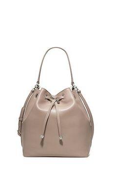 dcb03a80bc03 Tory Burch Toggle Drawstring Bucket Bag Fashion Handbags