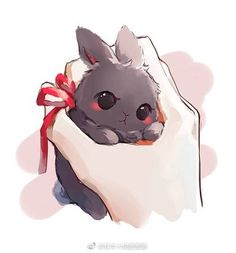 Bunny 兔子 paro Wei WuXian 魏无羡