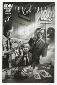 X-Files Conspiracy Crow   #1   Subscription Cover  Variant      1st Printing