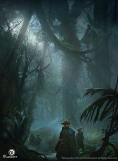 Assassin\'s Creed IV Black Flag Concept Art by Martin Deschambault | Illustration | 2D | CGSociety