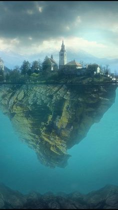 Lake Bled, Slovenia | Wonderful Places - It's a real place, but SURE looks a fantastical one!