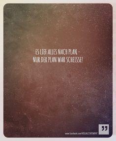 ja, der plan