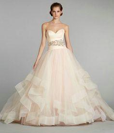3.1 lazaro hell Rosa brautkleid tuell prinzessin Rosa – Wunderschöne Hochzeitsidee für beliebte Hochzeitsfarbe 2013