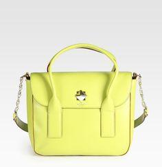 c30c22fc6916 Florence Flap Satchel - Lyst Fall Handbags