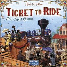 """""""Ticket to Ride: the Card Game"""""""