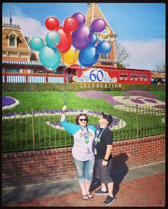 Reliving our wonderful Disneyland adventure going through all the Photo Pass pictures. #Disneyland #disney #Disneyland60 #vacation #mickeymouse #photopass #beautifulday #balloons #instagood #instalove by perri_blue