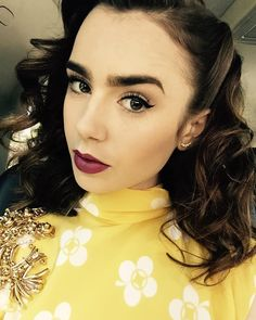 Lily Collins @cataandrea95