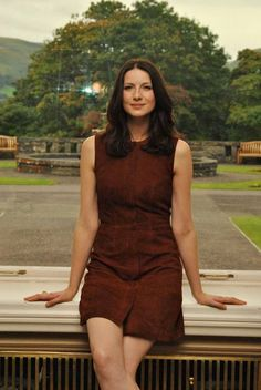 Love this pic of Caitriona Balfe - without being photoshopped