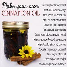 Kaneel niet alleen smaakt en ruikt goed het heeft vele voordelen voor de gezondheid.  Wij laten u zien hoe u uw eigen kaneel olie gemakkelijk en goedkoop te maken.  Gratis etiketten ook!
