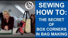 Learn the secrets of making box corners for your bags and pouches. How to align them perfectly and the calculations you need to draft your own. Wallet Sewing Pattern, Tote Pattern, Sewing Box, Sewing Patterns, Bag Patterns, Sewing Hacks, Sewing Tutorials, Sewing Projects, Bag Tutorials